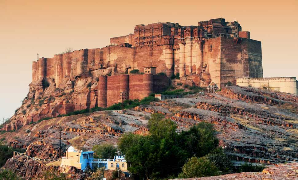 Travel guide to visit Jodhpur : Mehrangarh-Fort