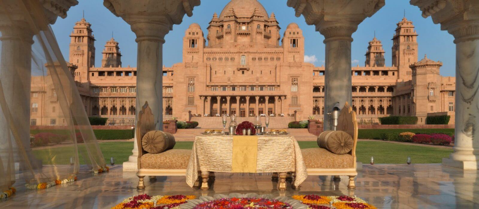 Jodhpur travel information : Taj Umaid Bhawan Palace