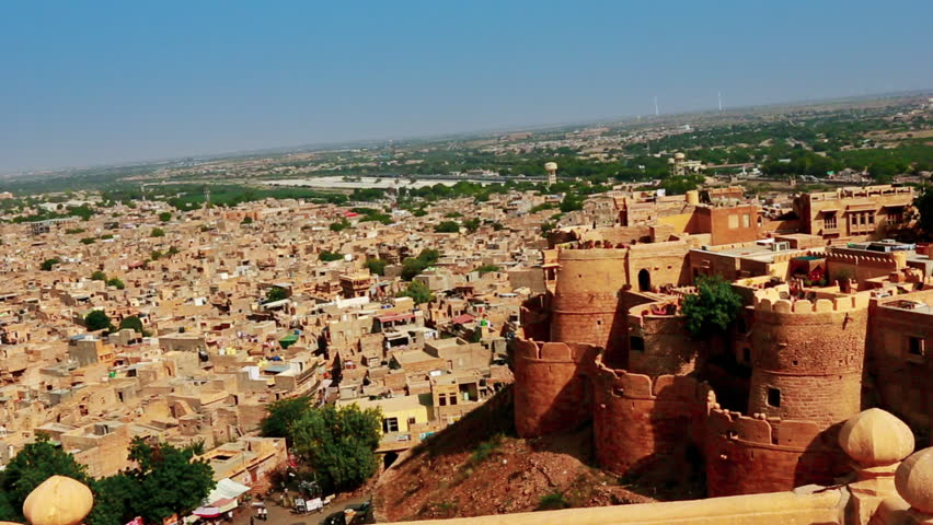 Travel guide to visit Jaisalmer : Jaisalmer Fort