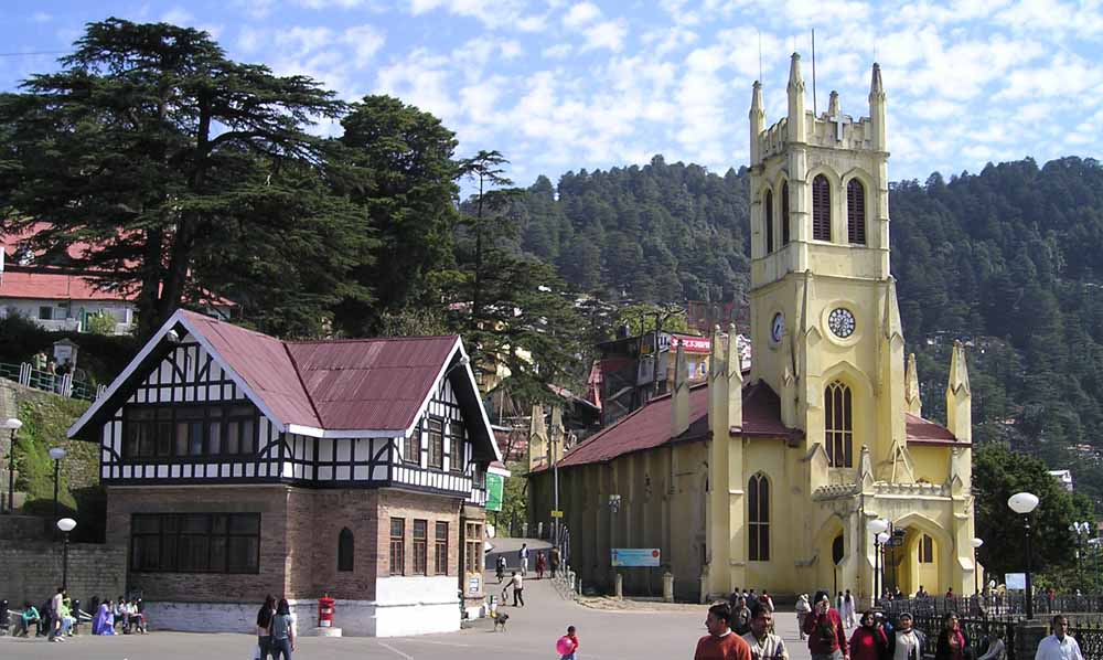 Golden Triangle tours with Shimla