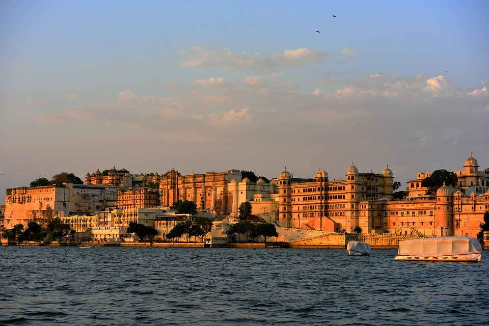 View from Lake Pichola