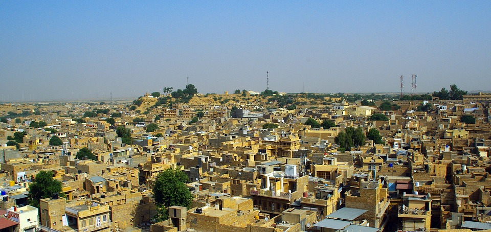 View from the Fort of Jaisalmer