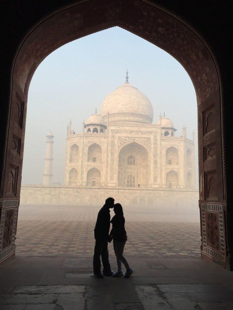 Visit to Taj Mahal