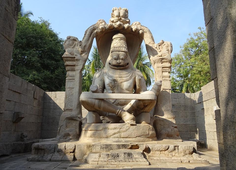 The Lakshmi Narishma Temple